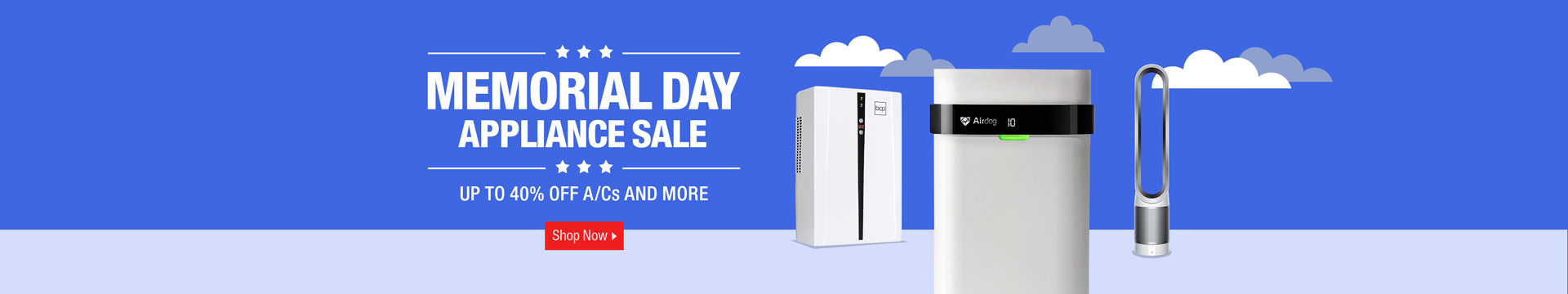 Memorial Day Appliance Sale