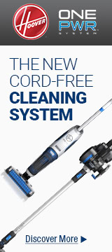 The new cord-free cleaning system