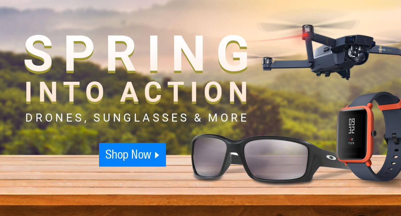 Spring Into Action Dji Drones Oakley Sunglasses Activity Trackers