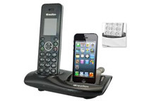 i650 iCreation DECT Cordless Bundle with iPhone Dock and Expansion Handset