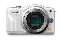 Panasonic Lumix DMC-GF3 Kit 12.1 MP Digital Camera White (Body)