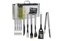 Chefs Kitchen  18 Piece Heavy Duty BBQ Set with Case