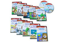 Baby Genius Ultimate Children's Library with 10 DVDs & 10 CDs - 500+ Minutes Music Run Time!