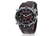 Spy Watch With Video Camcorder, Digital Camera, Microphone, 8GB Memory, & Push button Controls