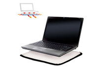 Notebook Buffer Laptop Comfort Cushion Fold-up Pad Protects Against Spills & Heat