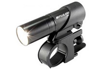 FUJILABS R10 225 Lumen Aluminum LED Flashlight (w/ Bicycle Bracket)