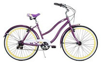 Huffy Deluxe Newport 26'' Women's Cruiser Bike