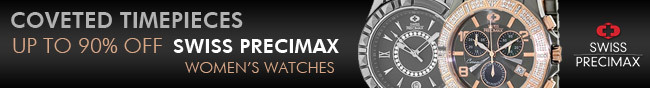 Coveted Timepieces Up to 90% Off Swiss Precimax Women's Watches