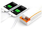 4 USB Ports Power Charger Station