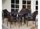 Cliff 5pc Outdoor Dining Set