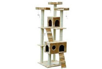 Pawhut 72 Pet Tree Condo Cat Scratcher