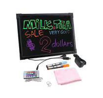 12x16 Flashing LED Erasable Message Board