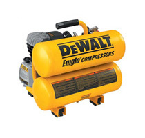 Dewalt D55153R 1.1 HP 4 Gallon Oil-Lube Hand Carry Air Compressor