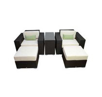 Outsunny Outdoor PE Rattan Wicker Patio Sofa Furniture Set (4 Styles)