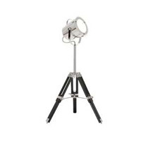 Industrial Adjustable Studio Tripod Table Lamp