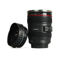 Canon Camera Lens Coffee Mug Thermos