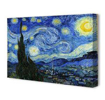 Classic Canvas Art Prints (Various Prints / Sizes)