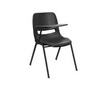 Flash Furniture Black Ergonomic Shell Classroom Chair (2 Styles)