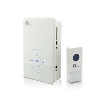 1Byone Portable Wireless Doorbell with MP3 Player Function