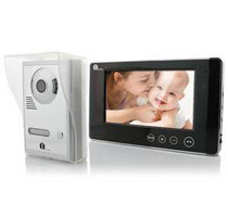 1Byone 7inch Color Screen Video Door Phone Doorbell Intercom System