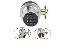 Keyless Programmable Digital Door Lock + ID Card Lock