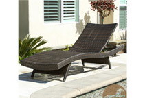 Christopher Knight Home Outdoor Wicker Chaise Lounge