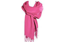 Wool & Silk Blend Pashmina Scarf / Wrap (8 Colors)