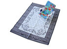 6�X9� Reversible Outdoor Fold-Up Mat, Blue