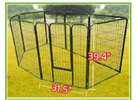 Pawhut 40inch Heavy Duty Portable Pet Playpen