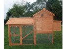 Pawhut Backyard Chicken Coop / Hen House / Rabbit Hutch with Run