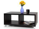 Furinno Nihon Dual-Function Contemporary TV Stand/Coffee Table, Espresso