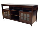 Techcraft PRO60E Espresso Credenza Cabinet for TVs Up to 65inch