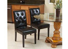 Christopher Knight Home Gentry 2-Piece Dining Chairs, Black