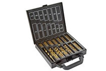 120-Piece Titanium Coated Drill Bit Set by MAXTECH