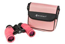 Barska 8x30 WP Crossover Fully Multi-Coated Binocular, Pink