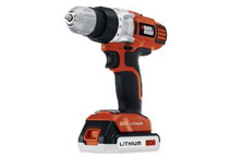 Refurbished: Black & Decker 20V Cordless Li-Ion 3/8inch 2-Gear Drill Driver Kit w/ Fast Charger