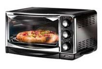 Oster 6-Slice Black Toaster Oven