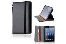 Leather Case w/Smart Cover for iPad Mini