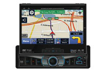 In-Dash 7inch Motorized Touchscreen Monitor GPS