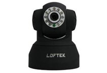 Dual Audio Alarm IP Camera by LOFTEK