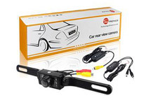 Wireless Car License Mount Rear View Camera