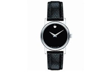 Black Dial Quartz Women's Watch by MOVADO