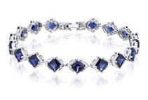 Sapphire Gemstone Bracelet by ORAVO