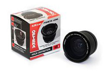 Opteka 0.35x HD Wide Angle Fisheye Lens for Digital SLR Cameras (5 Models)