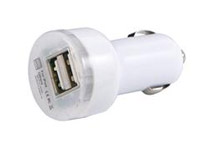 2.1Amps / 10W Dual USB Car Charger For Apple and Android Devices (Pack of 2)