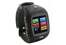 SVP G14 Unlocked GSM Quad-Band Watch Phone, Black