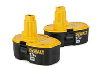 DeWalt 18V XRP Batteries Pack