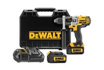 DeWalt 20V Max Cordless 1/2inch 3-Speed Hammer Drill Kit