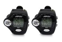 2-Way Watch Walkie Talkie Pair (2 Colors)