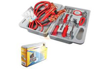 29-Piece Compact Roadside Emergency Auto Tool Kit